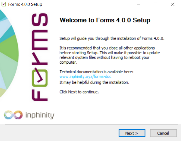 Qlik Installer - Forms